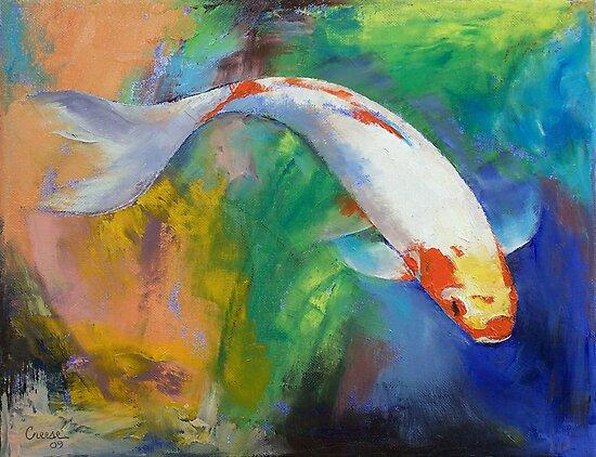 Koi Art Pirouette by Michael Creese