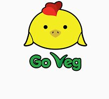 Chicken-Go Veg Womens Fitted T-Shirt
