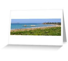 Queenscliff Panorama Greeting Card