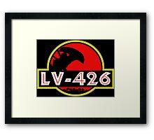 Xenomorph Park - LV 426.  Framed Print