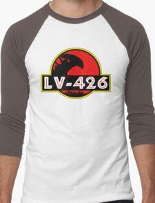 Xenomorph Park - LV 426.  Men's Baseball ¾ T-Shirt