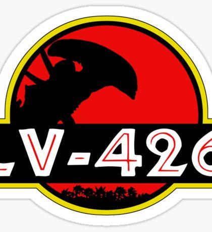 Xenomorph Park - LV 426.  Sticker
