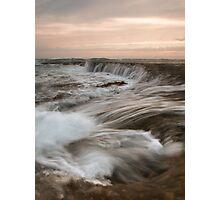 The Water Rush Photographic Print