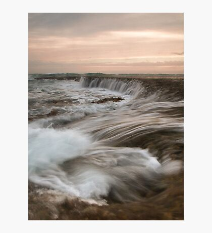 The Water Rush Photographic Print