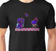 Eggplant Man Unisex T-Shirt