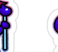 Eggplant Man Sticker