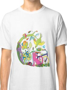 Garden of Earthly Bikes Classic T-Shirt