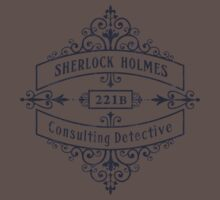 Consulting Detective (blue) One Piece - Short Sleeve