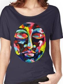 Color Full Face Women's Relaxed Fit T-Shirt