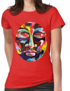Color Full Face Womens Fitted T-Shirt