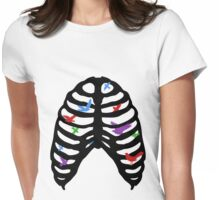Bird Cage Womens Fitted T-Shirt