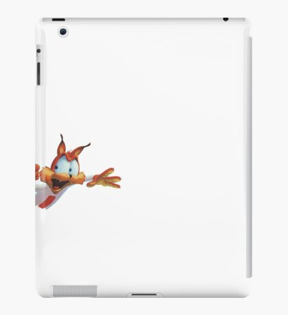 Bubsy popping into view iPad Case/Skin
