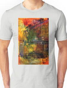 The House Jack Built in the Town Angela Imagined Unisex T-Shirt