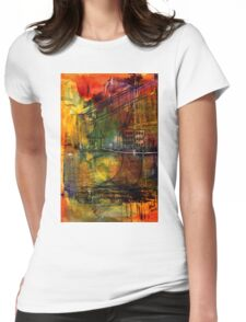 The House Jack Built in the Town Angela Imagined Womens Fitted T-Shirt