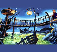 Scabb Island Panorama (Monkey Island 2)  by themasrix
