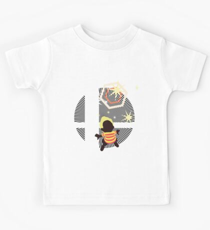 Lucas (Smash 4, Up Smash, Default Outfit) - Sunset Shores Kids Tee