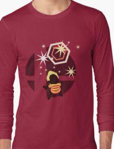 Lucas (Smash 4, Up Smash, Default Outfit) - Sunset Shores Long Sleeve T-Shirt