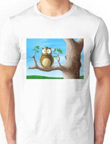 Insomni-Owl Unisex T-Shirt