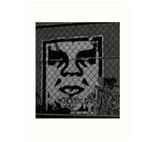 OBEY the GIANT - Shepard Fairey Art Print