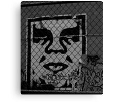 OBEY the GIANT - Shepard Fairey Canvas Print