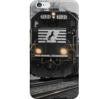 Hurry up and get by so I can do my job. iPhone Case/Skin