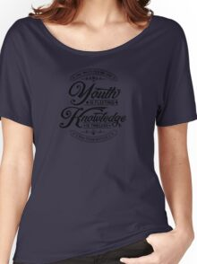 Fleeting Youth Black Women's Relaxed Fit T-Shirt