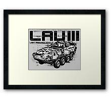 LAV III  Framed Print