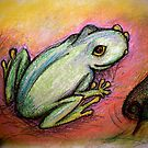 Portrait of a Frog by JadeHarmony