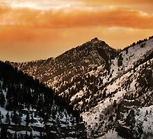 American Fork Canyon Sunset by Ryan Houston