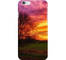 Rural Sunset Burst  iPhone Case/Skin