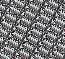 NES PIXEL PATTERN by Brandon Wilhelm