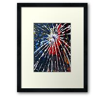 the extraction of decay #1 Framed Print