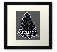 Artorias The Abysswalker Framed Print