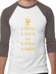Keep Calm Chocobo Men's Baseball ¾ T-Shirt
