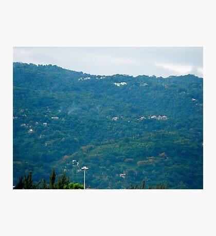 Jamaica Hills Photographic Print