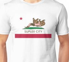 Suplex City WHITE BACKGROUND Unisex T-Shirt