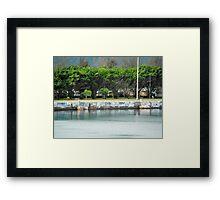 Jamaican Tags Framed Print