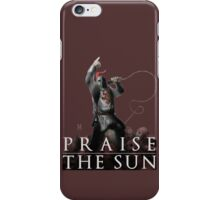 Knight Solaire of Astora - Praise The Sun! iPhone Case/Skin