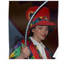 Carnival girl Poster