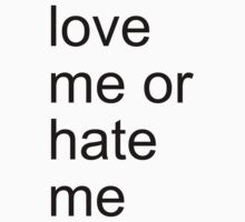 love me or hate me by adam sullivan