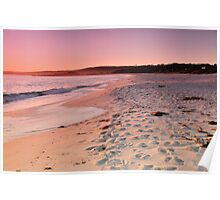Dawn at the Bay of Fires Poster
