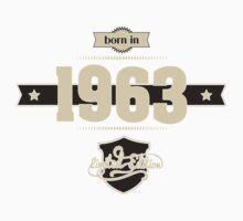 Born in 1963 (Cream&Choco) Kids Clothes