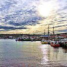 Whitby Harbour 2. by stanegg
