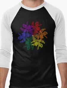 Nature Colour Wheel Men's Baseball ¾ T-Shirt