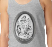 NYC-Faces on the morning train into Grand Central * Tank Top