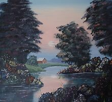 Peacefull Pond by landmark