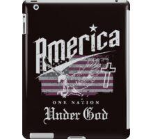 America One Nation Under God iPad Case/Skin