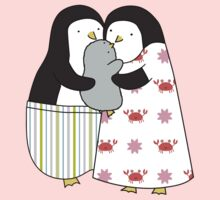 Penguin Family Kids Tee