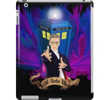 Time and Space Traveller with Rainbow Ray Ban Glasses iPad Case/Skin