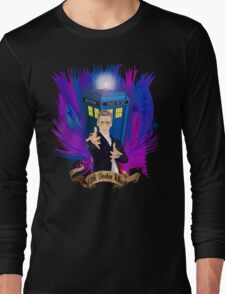 Time and Space Traveller with Rainbow Ray Ban Glasses T-Shirt